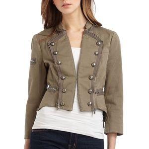 BCBG MaxAzria blazer jacket Army Green Size XXS
